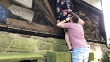 Sex at an abandoned barn – amateur couple Dirty Desire