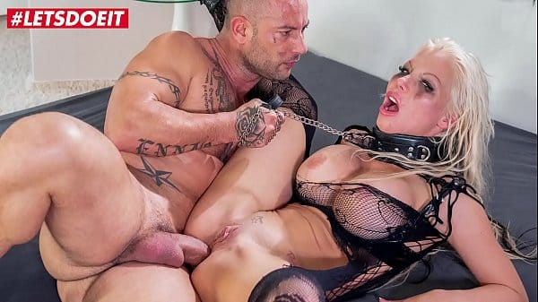 LETSDOEIT – Busty Blonde Has Her First Rough Anal Sex And She Loves It (Barbie Sins & Mike Angelo)